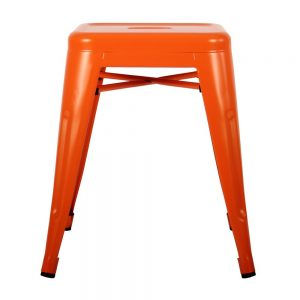 Small Orange Stool