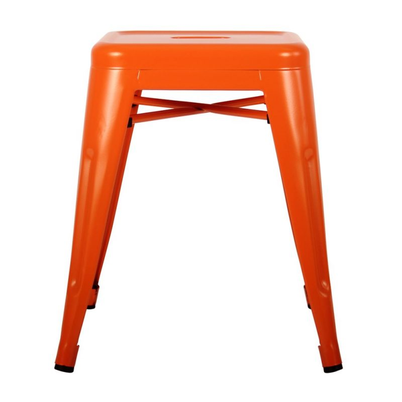 Small Orange Bar Stool Hire Feel Good Events Melbourne