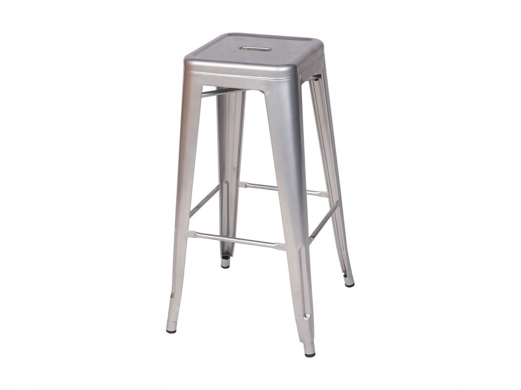 Silver Bar Stools Are 76cm High With A Square Top. These Stools Look Great  With Our LED Bar Tables Or The Standard Black Top Bar Tables.