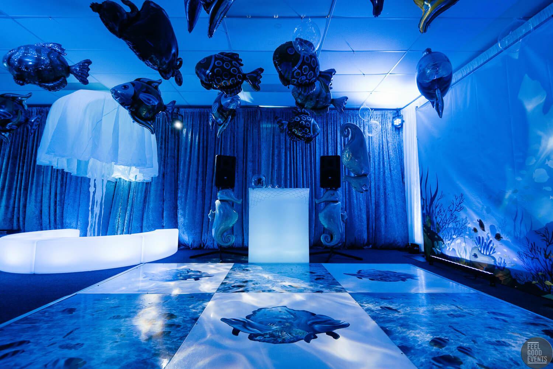 Dance Floor And DJ Booth Underwater Inspiration Hire Melbourne