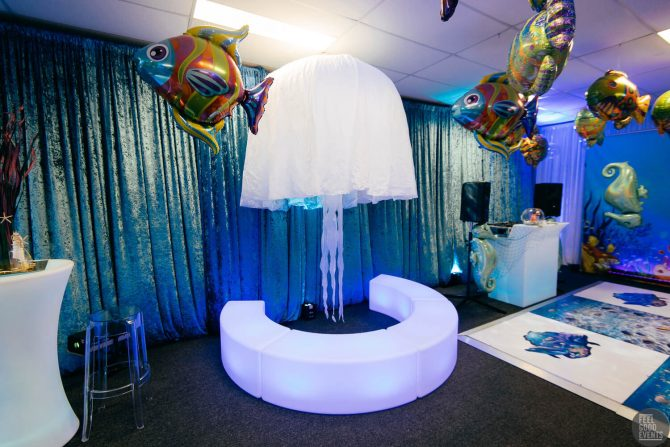 Giant Jellyfish Prop Hire Under the Sea