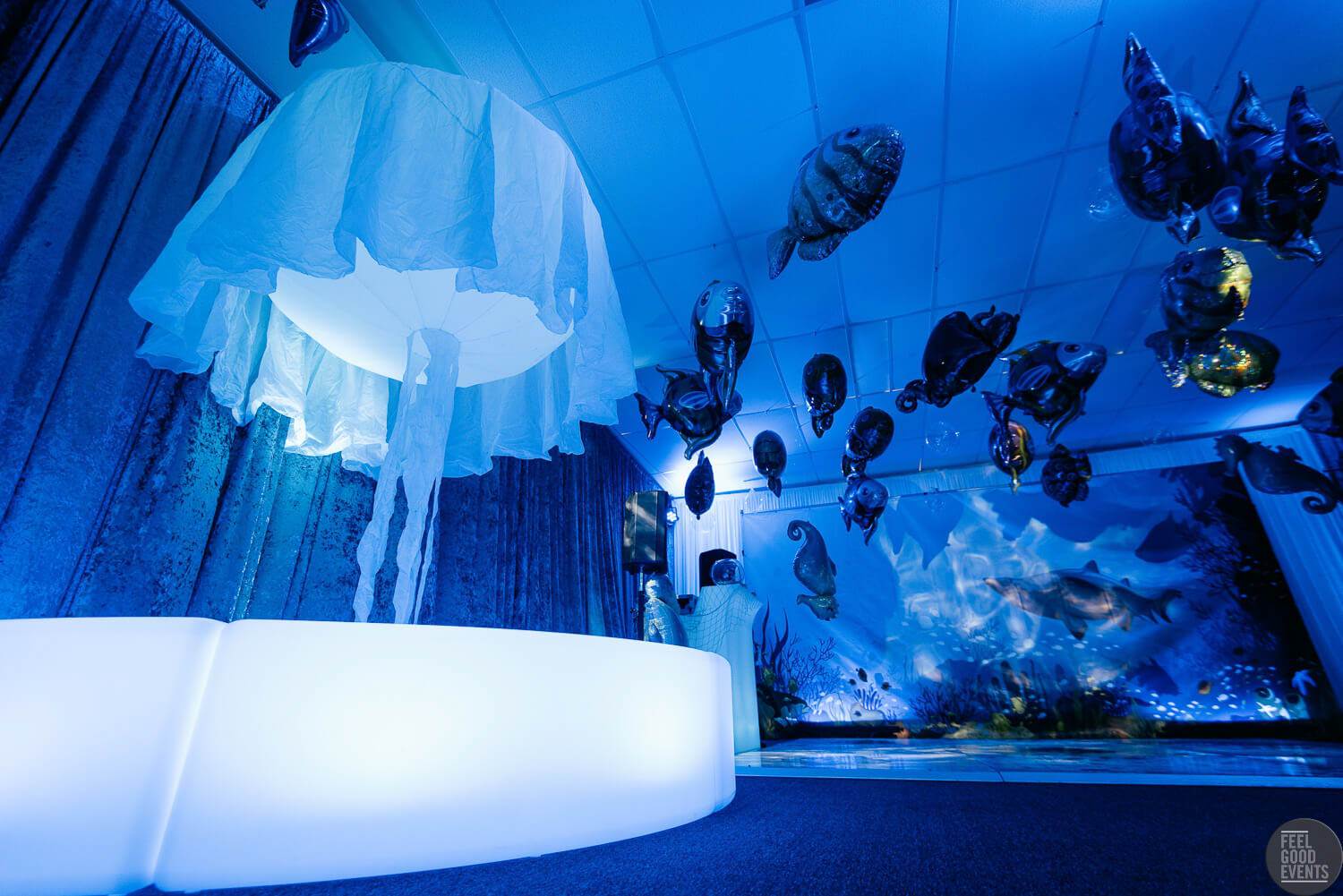 Inflatable Jelly Fish, Inflatable Jellyfish prop for hire