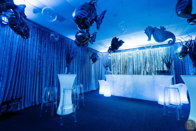 Glowing Furniture Hire for Themed Event Hire Melbourne