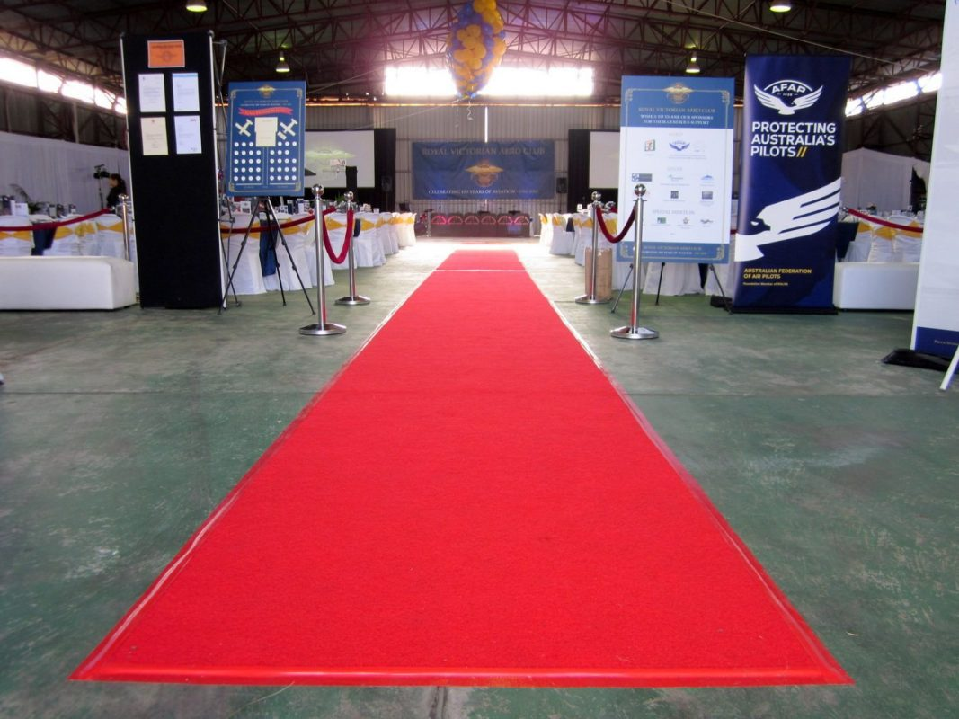 Red Carpet - Stanchions