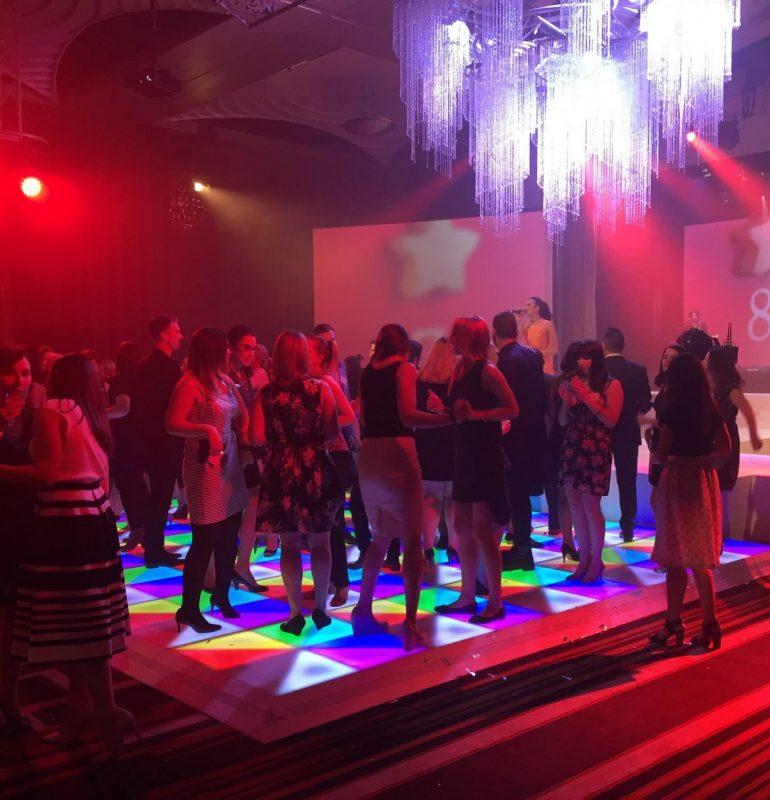 Crown Casino - Light up Dance Floor