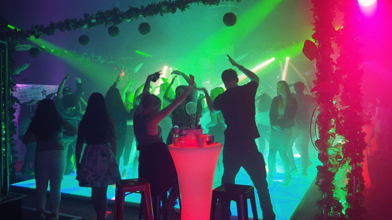 uni ball inspiration hire party
