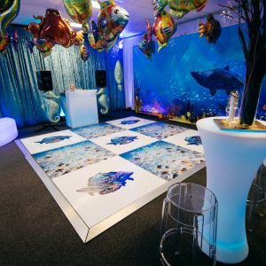 Under The Sea Dancefloor Space Hire Melbourne