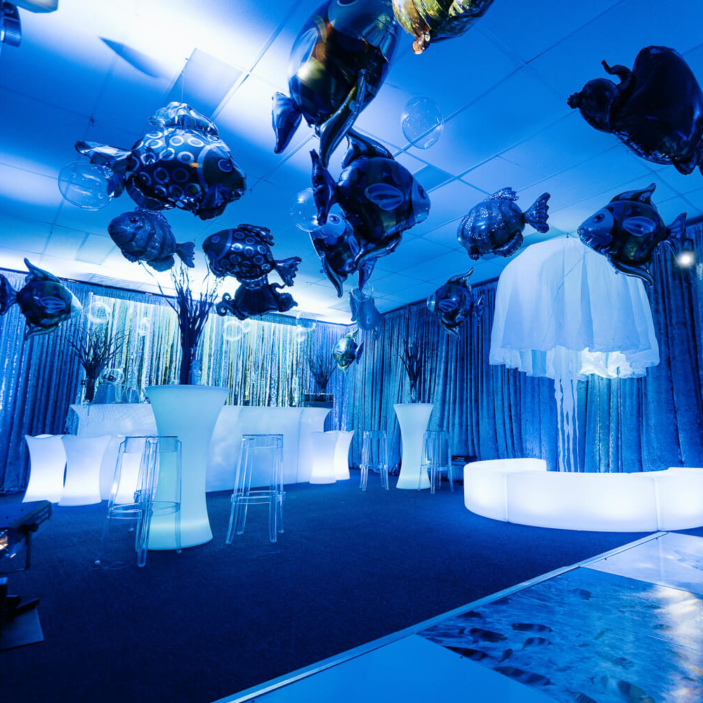 Under The Sea Party Theme inspiration Hire Melbourne