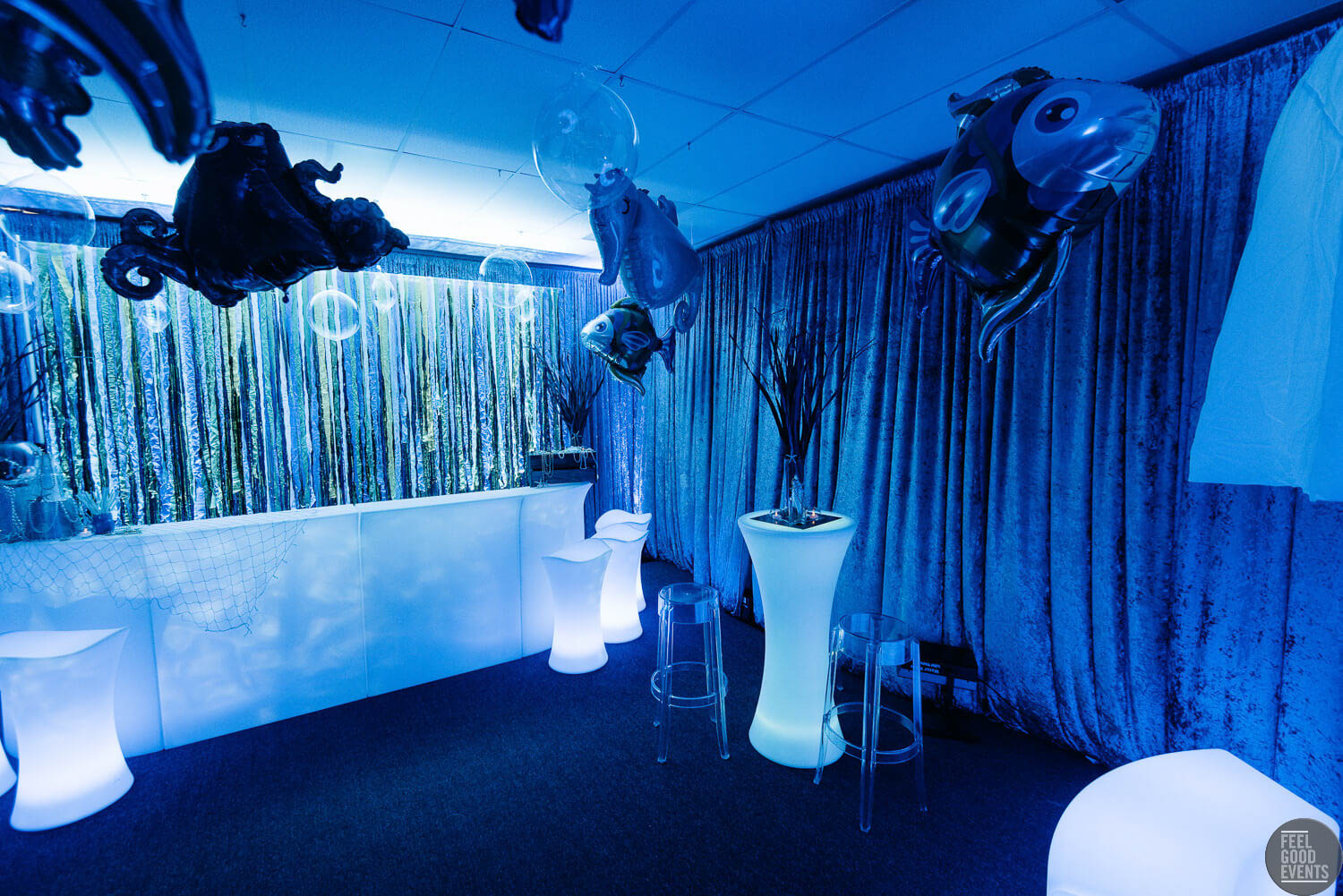 Underwater Theme Furniture and Bar Hire Melbourne