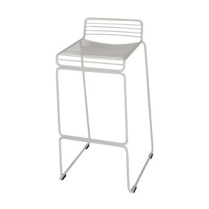 Wire Stool Hire Melbourne White Front Pic