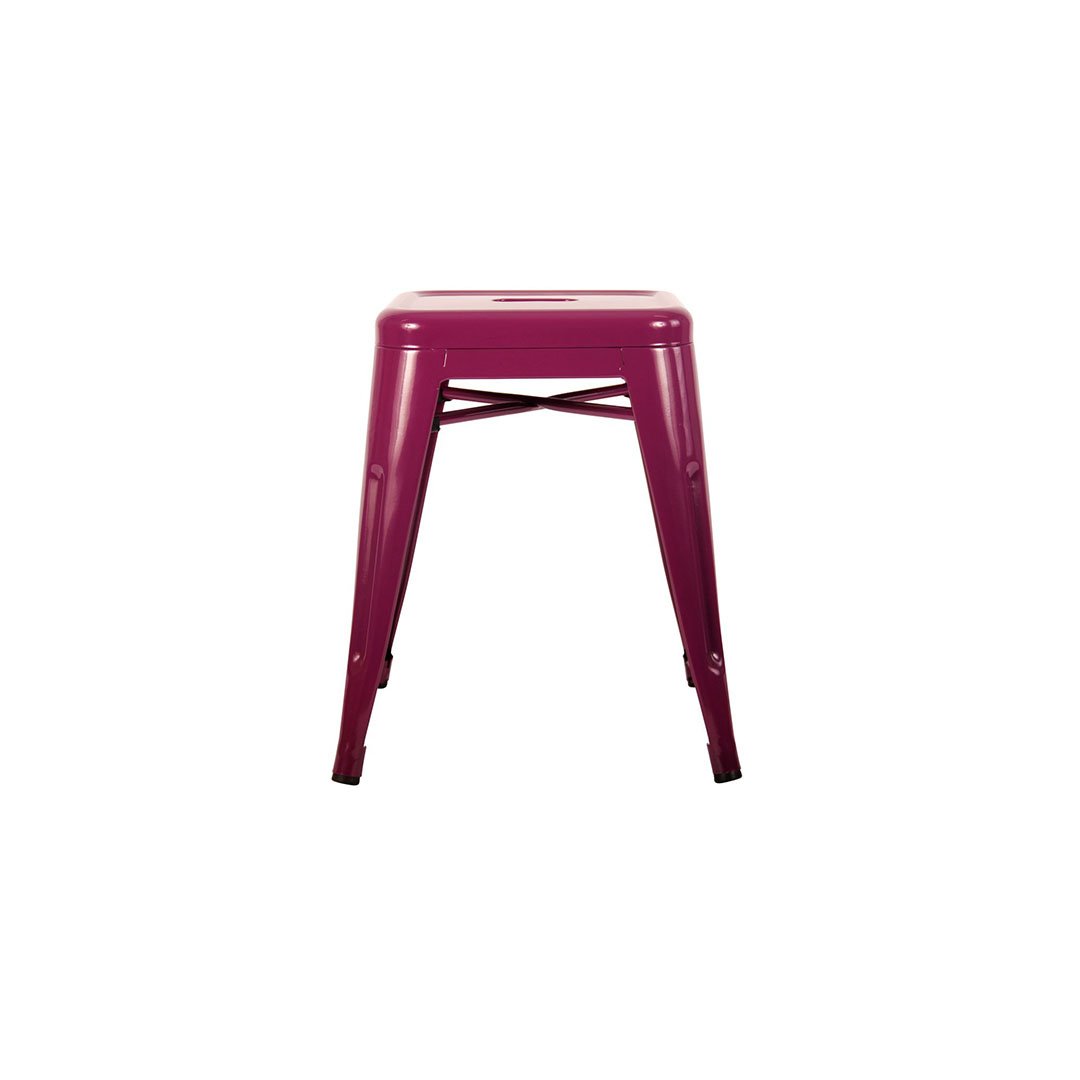 Bar stool purple small