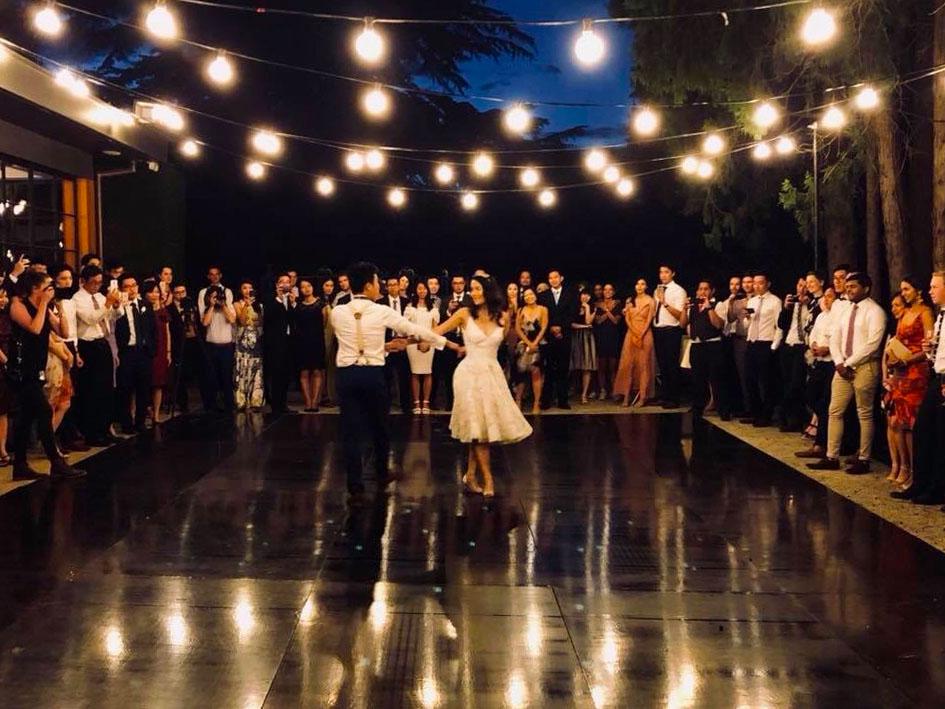 Outdoor Dance Floor Hire Feel Good Events Melbourne