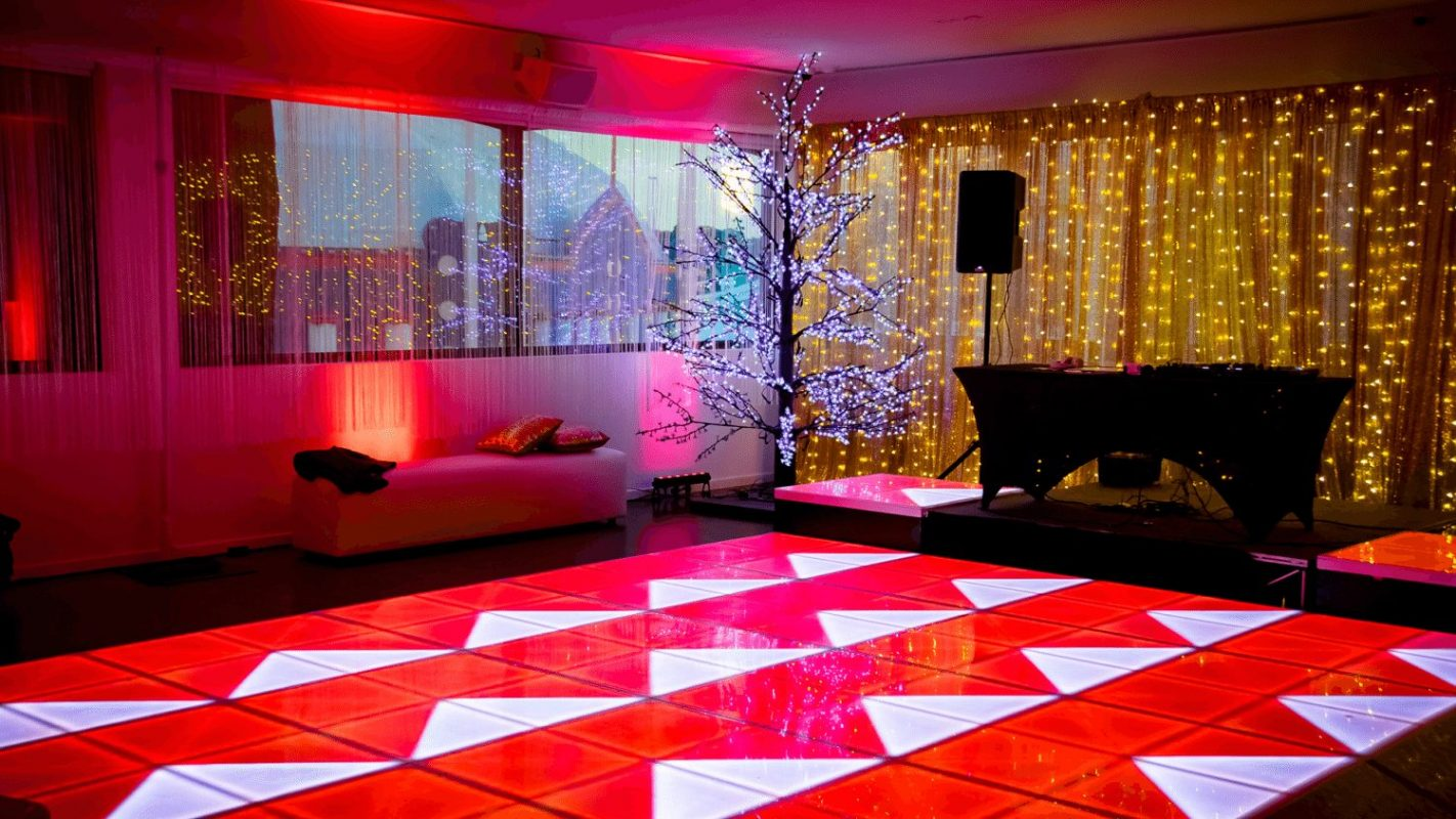 Light up Dance Floor - Luna Park