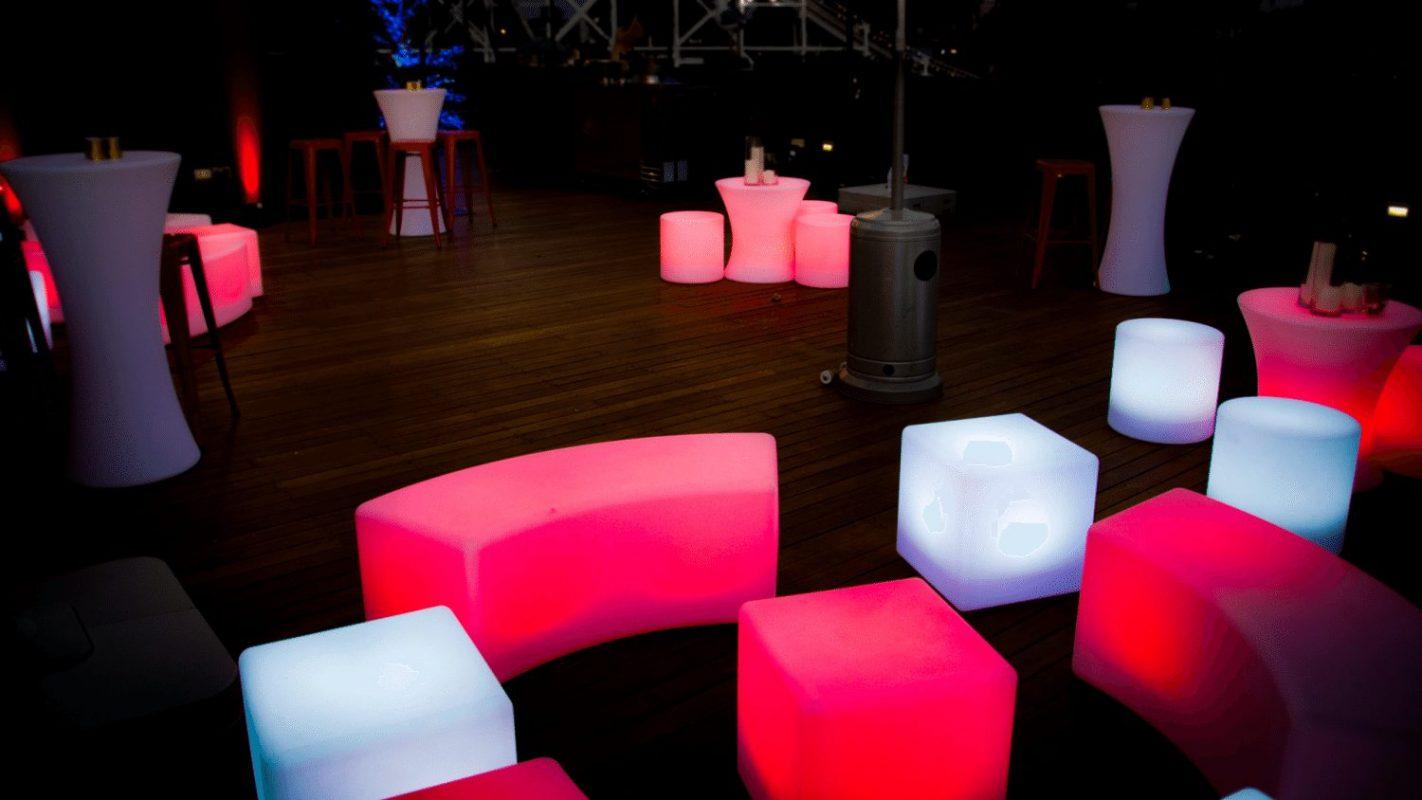 Illuminated Furniture - Luna Park