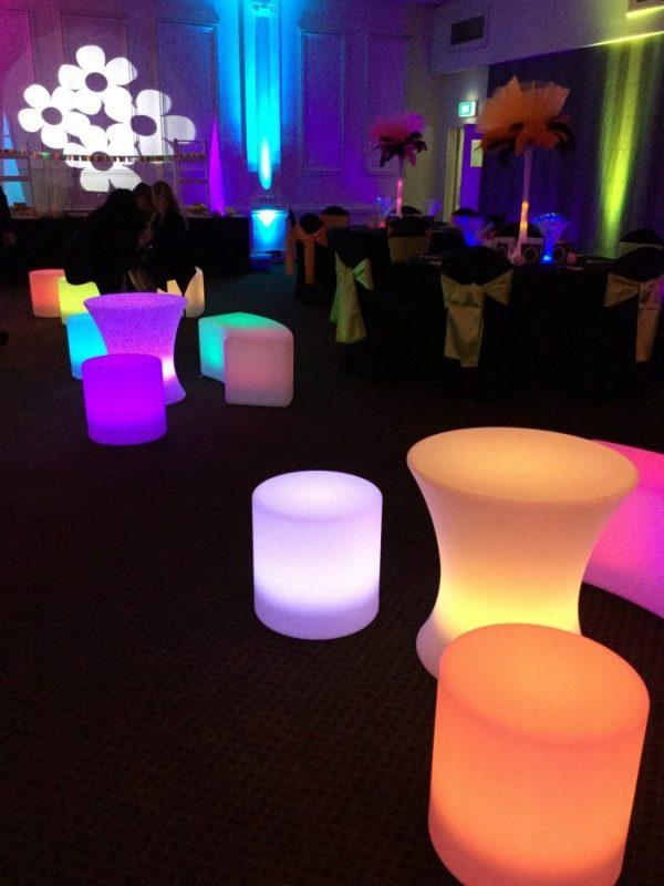 Illuminated Furniture Bundle 3 Feel Good Events
