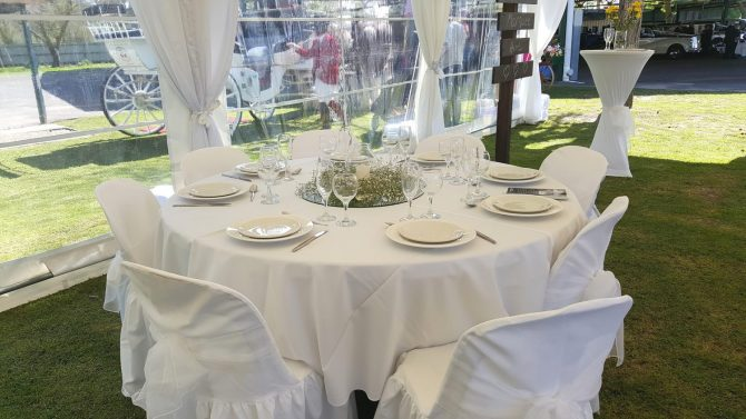 Linen Hire - Crockery - Cutlery