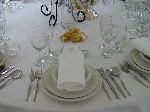 Table Setting - Cutlery - Crockery