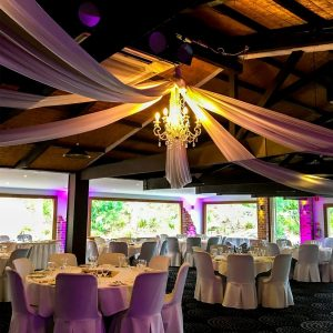 Potters Receptions - Lighting - Roof Draping