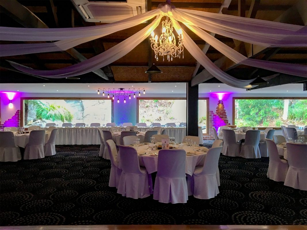Potters Receptions - Draping