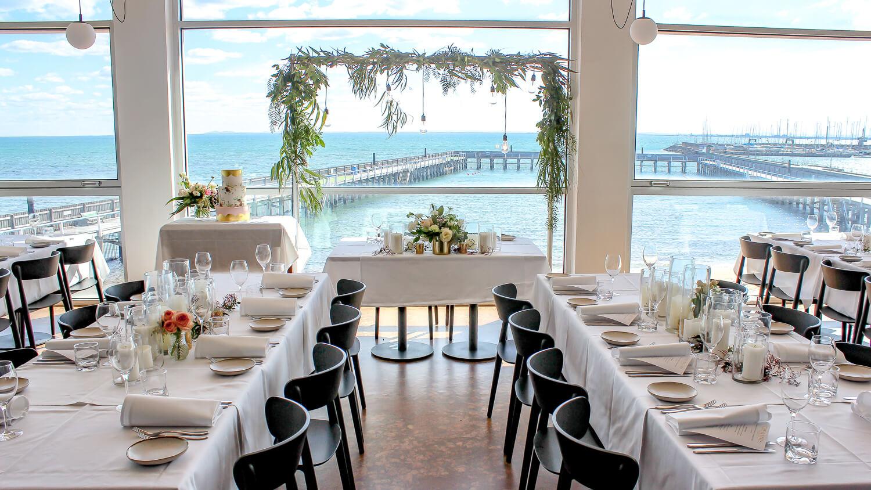 Wedding Table Setup Hire The Baths Arch Melbourne