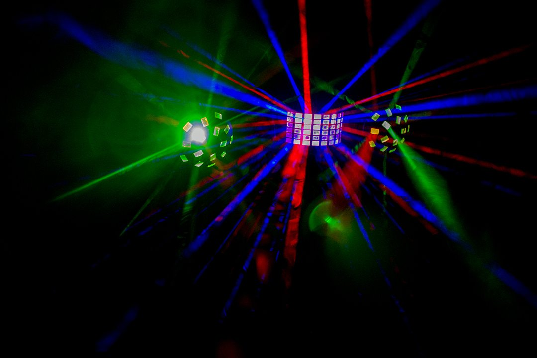 Lighting effects party hire bundle
