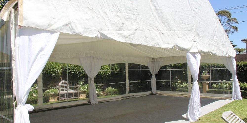 pro flooring in grey for marquee