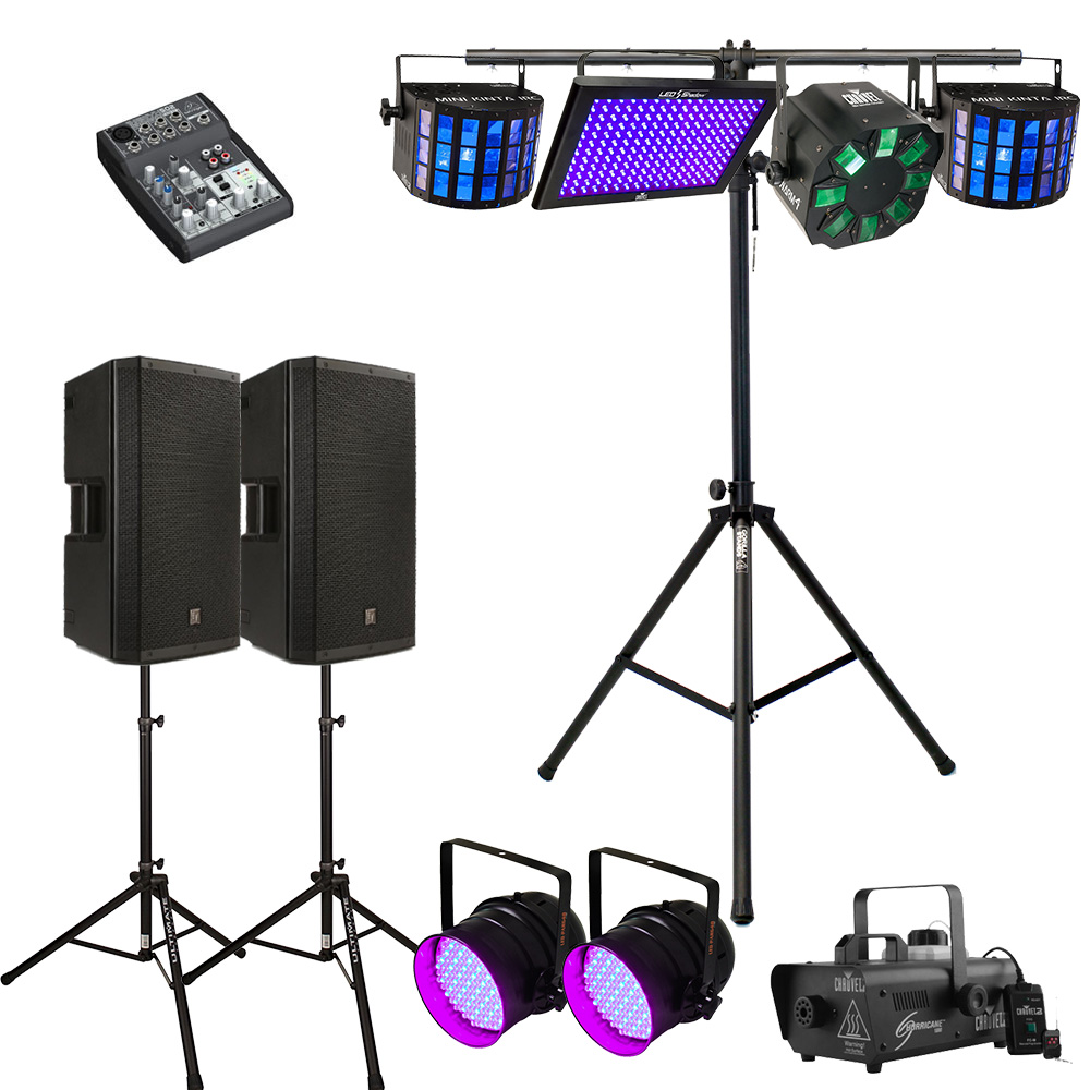 Party Lighting Hire Melbourne - Package 1 (updated)