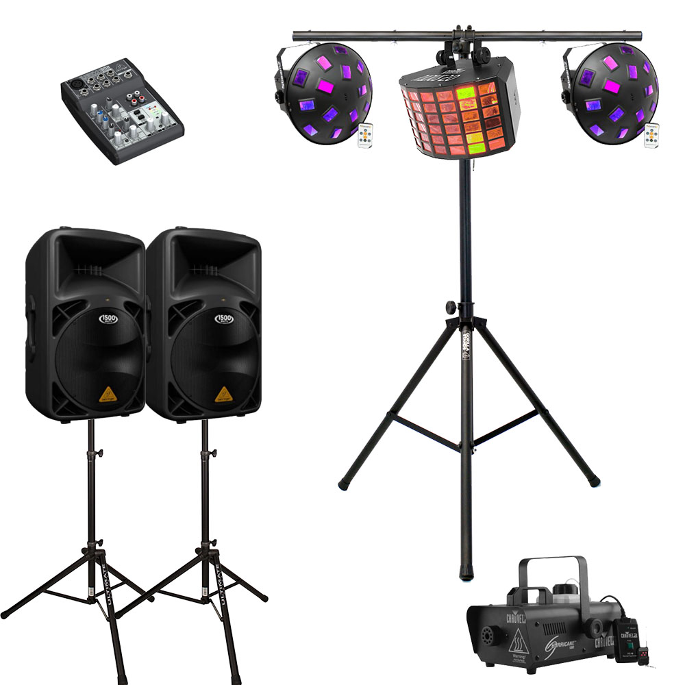 Party Lighting Hire Melbourne - Package 1
