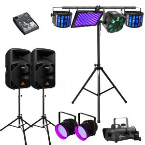 Party Lighting Hire Melbourne - Package 2