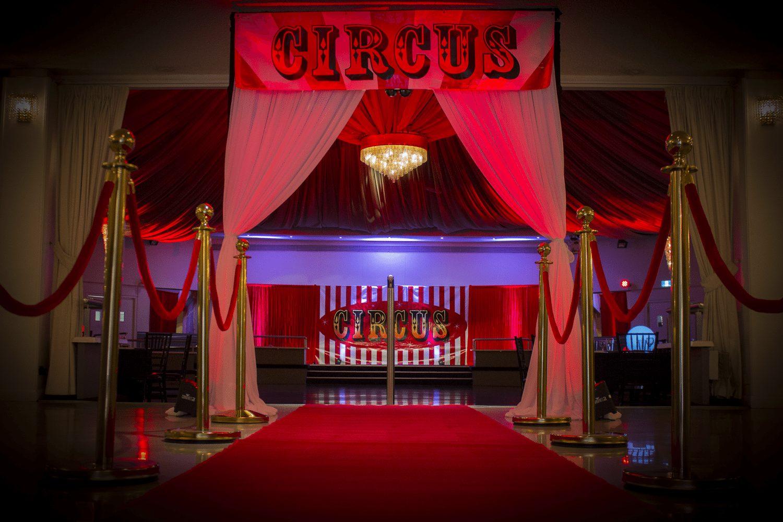 Entrance Banner - Circus