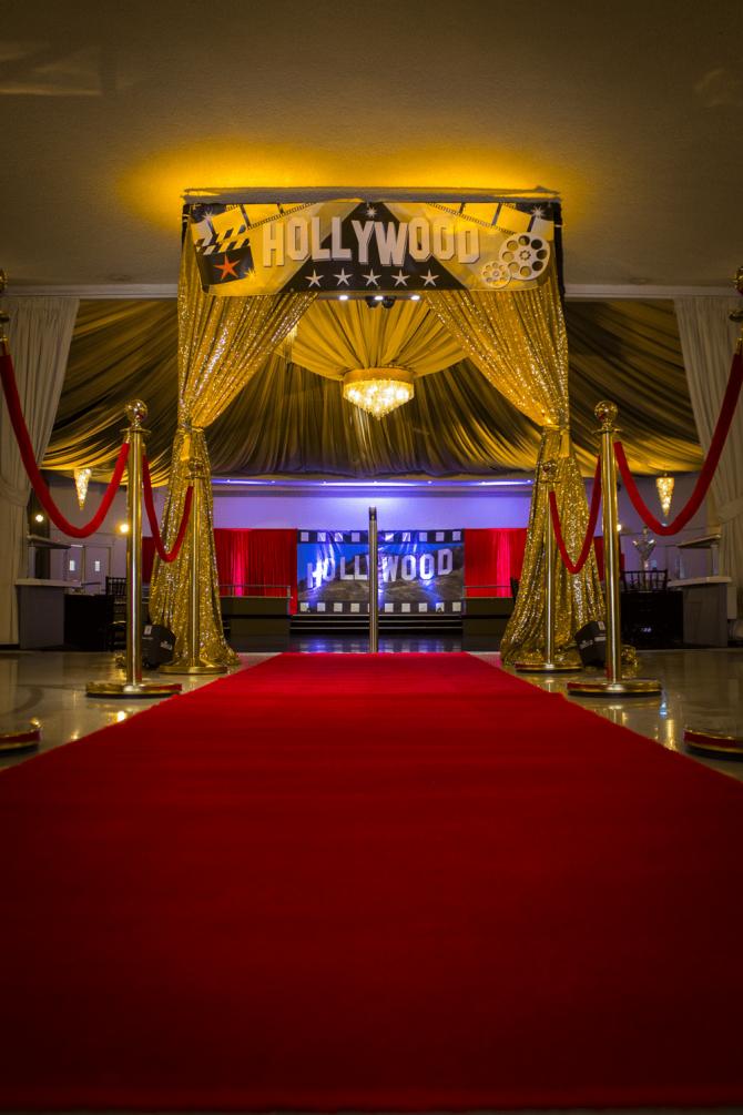 Entrance Banner - Hollywood