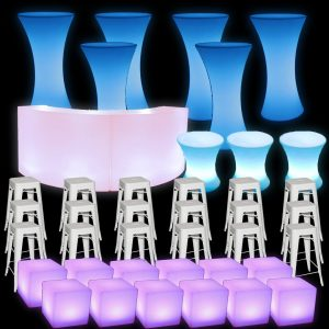illuminated furniture bundle 3