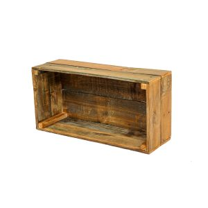 Wooden Crate Hire - angled view