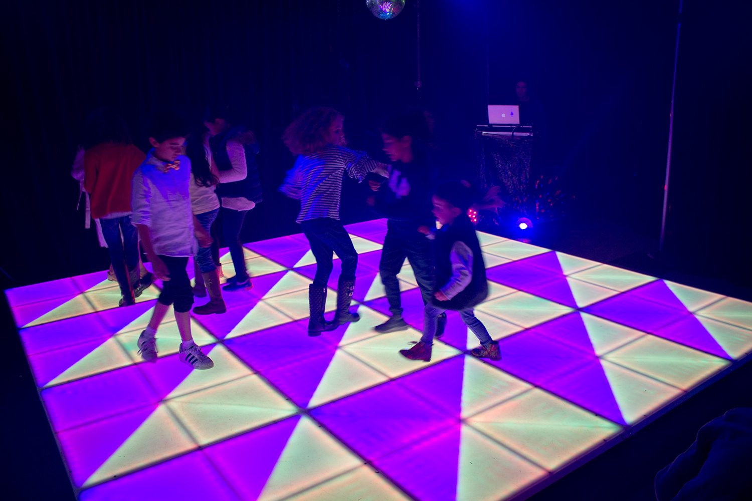 An illuminated LED dance floor will create an awesome party atmosphere where your guests won't want to stop dancing.