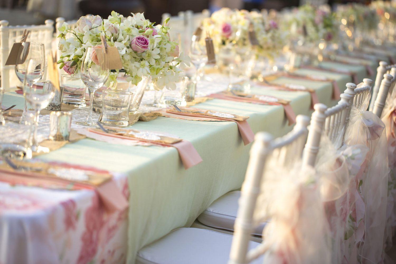 Linen hire wedding