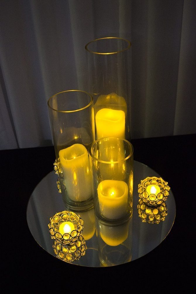 Candle Group Centrepiece Hire Feel Good Events Melbourne