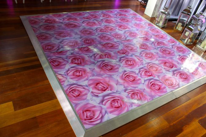 Decal Dance Floor Hire Melbourne 2