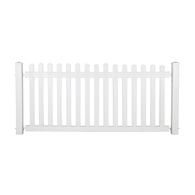 Picket Fence - White Hire