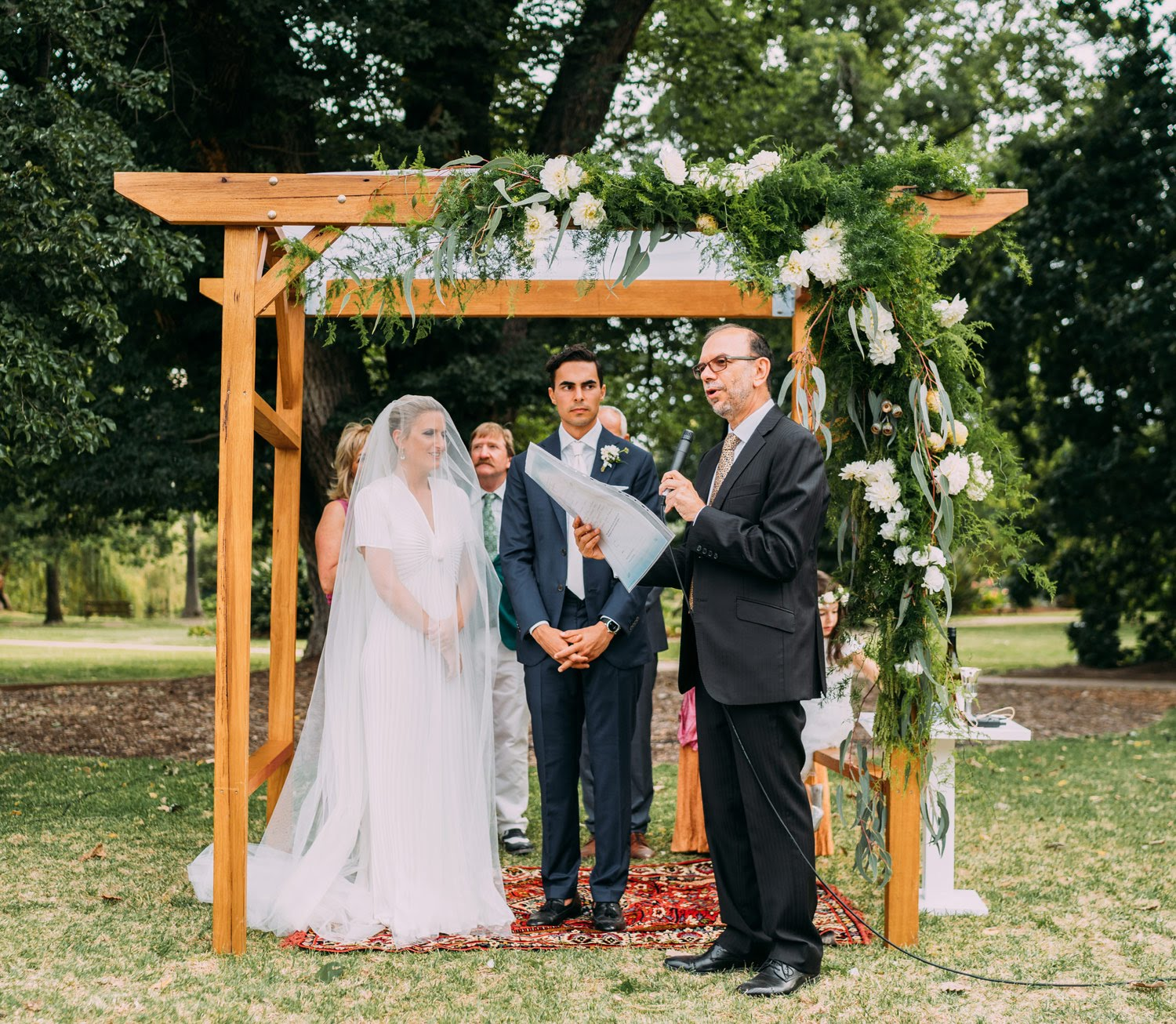 Wedding Altar Hire Melbourne: Wooden Wedding Arch Hire
