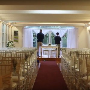 Wedding Draping & Lighting Timelapse