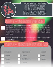 How to set up the ultimate home party bar