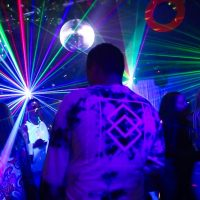 party hire dance lights