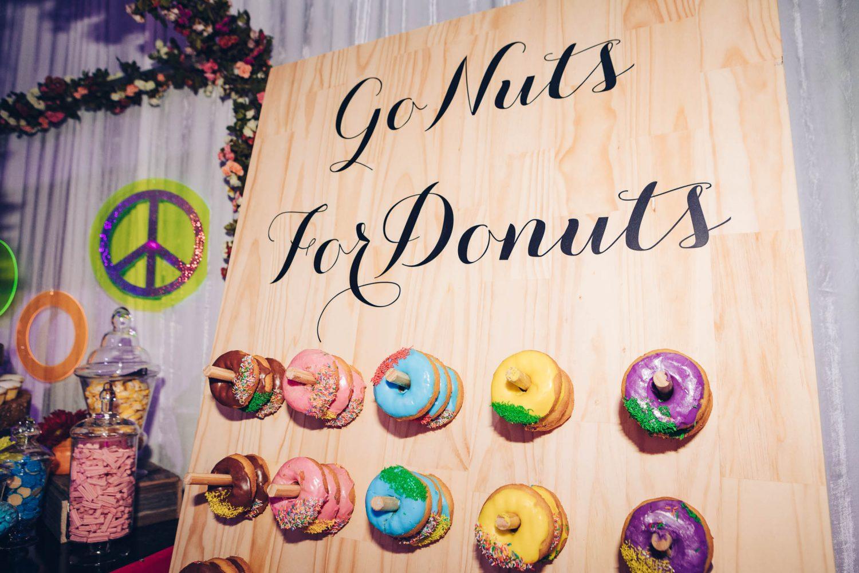 donut wall hire