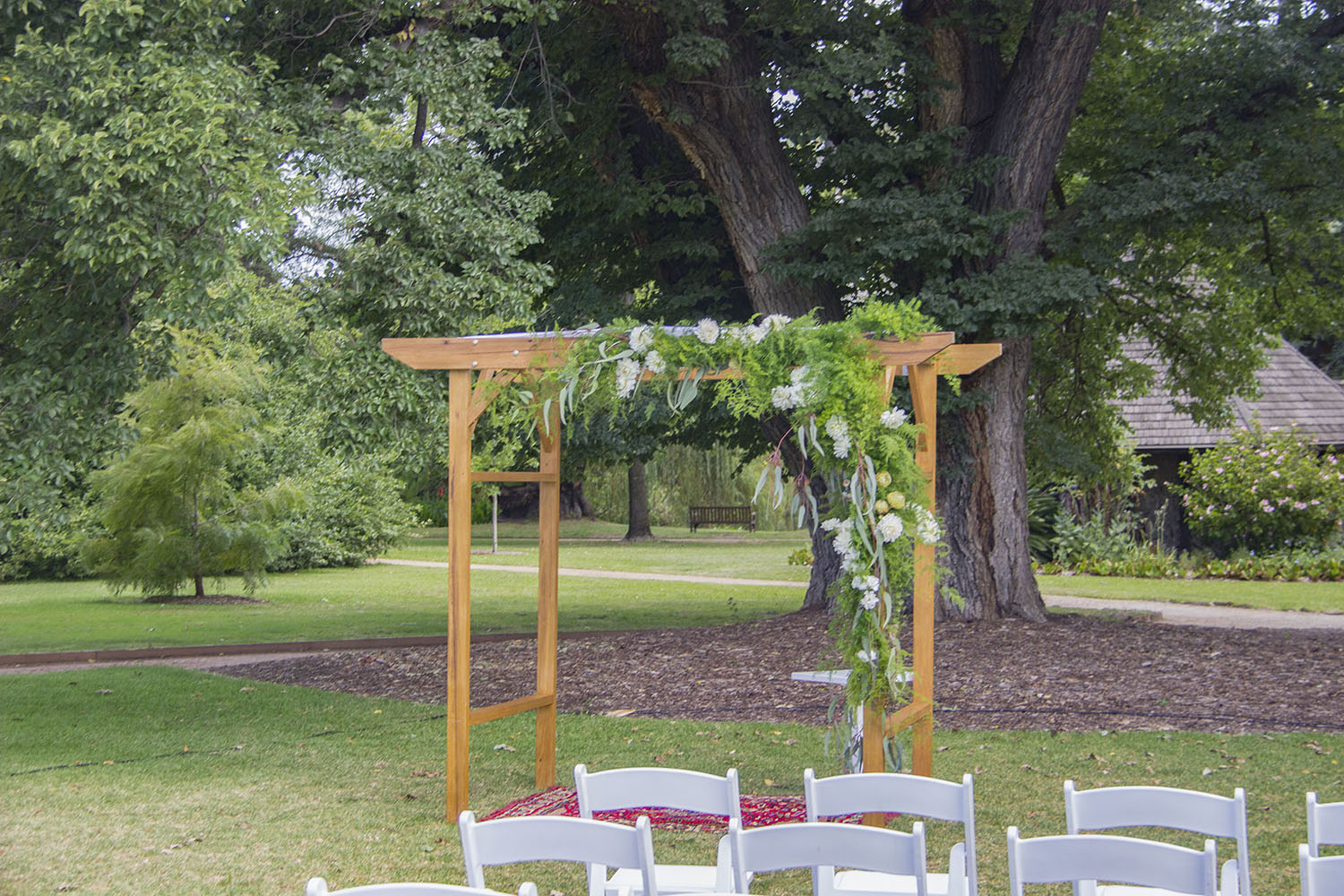 Wedding Arch Hire Melbourne Wooden 1 product 2
