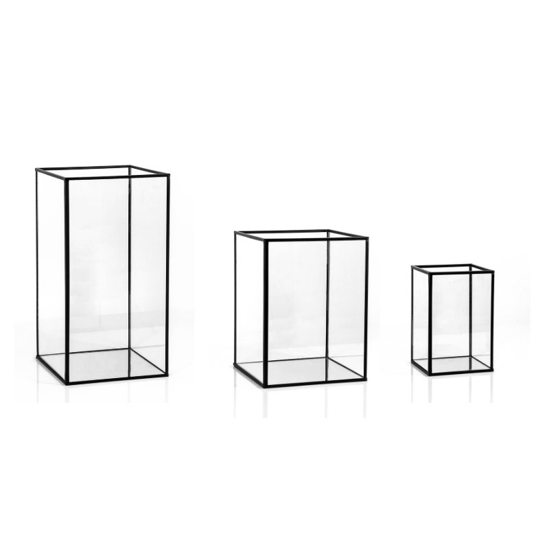 Square black frame Simple Candle Holders Square Black Frame Feel Good Events Candle Holder Hire Black Square Frame Feel Good Events Melbourne