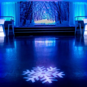 Snowflake Decal On Decal Hire Melbourne