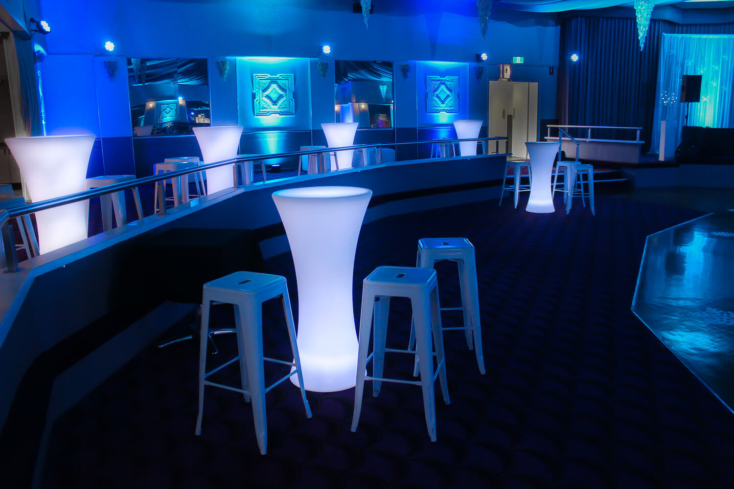 White bar stool hire feel good events melbourne