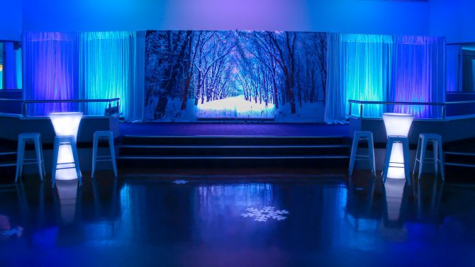 Winter Wonderland Backdrop Melbourne Hire