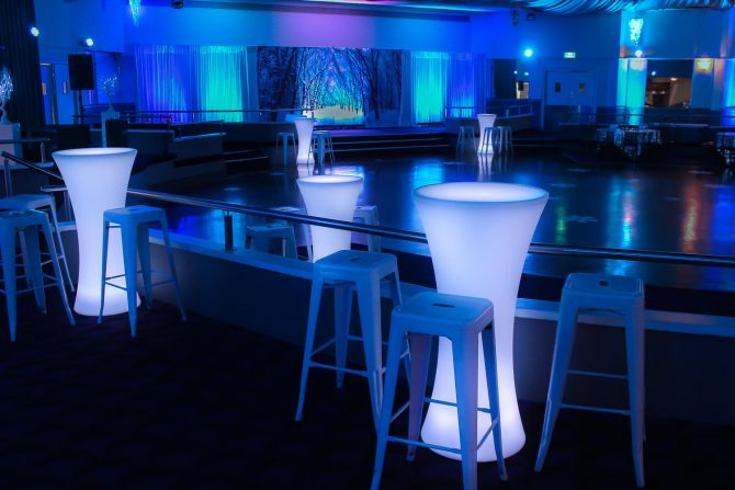 Winter Wonderland LED Furniture Hire Melbourne