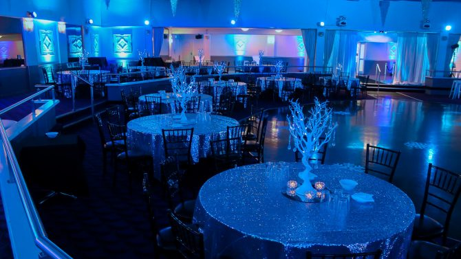 Winter Wonderland Table Centrepieces Hire Melbourne